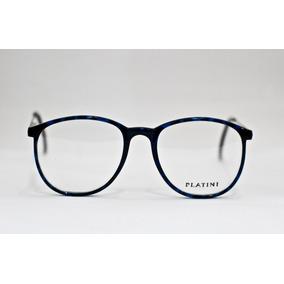 Armação Para Óculos Platini Acetato Vintage Unissex M2503 8a6c4af628
