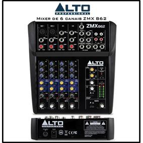 Mixer Alto Zmx862 (6 Canais)