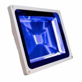 Refletor Led Holofote Led 20w Azul Bivolt