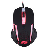 Mouse Gamer 3200 Dpi Xfire Led Vermelho - Tecdrive Shinigami