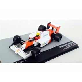 Formula 1 Mclaren Mp4 Senna 1988 1:43 Ixo Acrílico C/danos