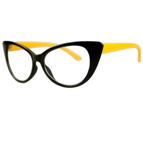 3a8b443b37723 Armação Para Óculos De Grau Gatinho Gatinha Cat Eyes Lindo - Óculos ...