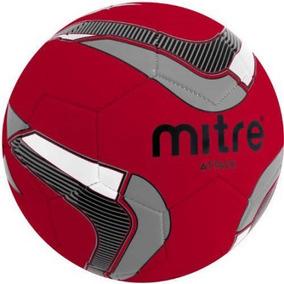 Ataque Mitre Balón De Fútbol Desinflado Rojo   Negro   Plata 50ec7a22f2e97
