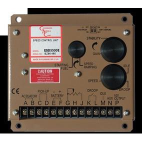 Controlado Regulador Velocidade Gerador Gac Esd 5500e Rev