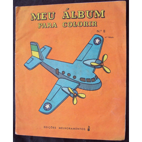 Livro Meu Álbum Para Colorir - 1964 - Ed Melhoramentos - Zm