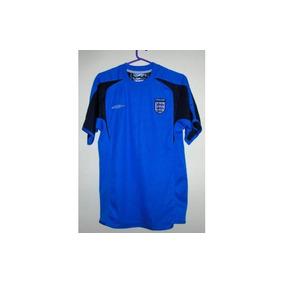 Camiseta De La Seleccion Inglesa Umbro Talle S Azul