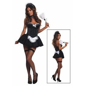 Disfraz De Sirvienta Francesa Para Damas Envio Gratis 7413565c2215
