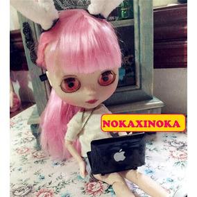 Miniatura Notebook Preto Para Boneca Blythe * Pullip Barbie