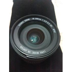 Lente Sigma Para Sony 18-200mm