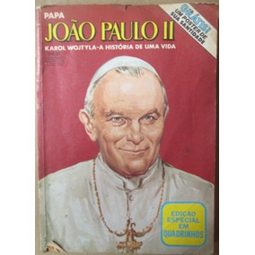 Papa Joao Paulo Ii Ediçao Especial Em Quadrinhos 1980 Abril