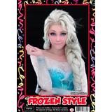 Peluca Frozen Style - Fiesta & Eventos La Golosineria