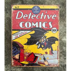 Placa Pôster Batman #1