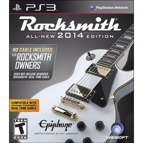 Jogo Guitarra Rocksmith Ps3 Play 3 Novo Original