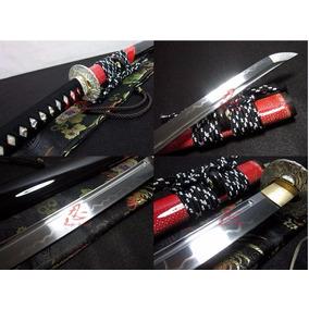 Espada Katana Samurai Afiada Aço T10 Dobrado Tameshigiri