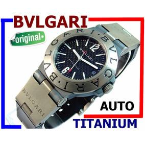 681e292d63e Bvlgari Titanium Automático Autêntico Carbono 100% Revisado!