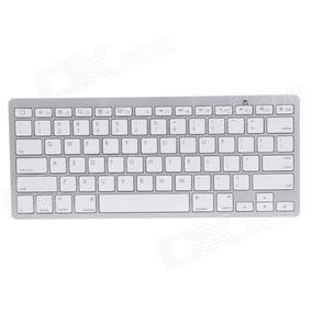 Teclado Bluetooth P/ Ipad Iphone Imac Macbook Pc Tablet