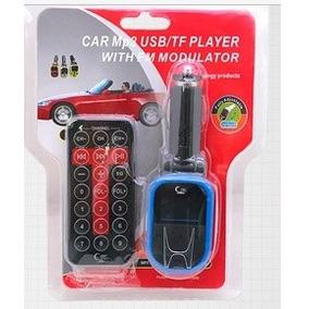 Modulador/transmisor/reproductor Mp3 Car 2gb