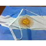 Bandera Argentina De Flameo *90x150cms* - Reforzada