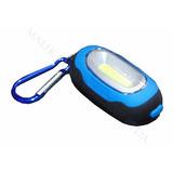 Mini Luz Led Con Mosqueton A Pilas 3 Modos Iluminacion