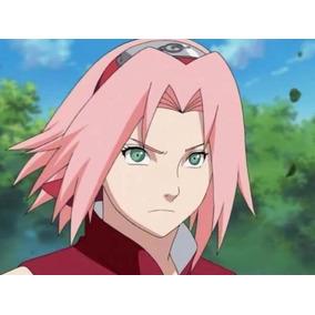 Bandana Sakura Sarada Naruto Konoha Vermelha Cosplay
