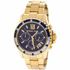 fdfc81dc596b2 Relógio Michael Kors Mk5754 Gold Original A Pronta Entrega