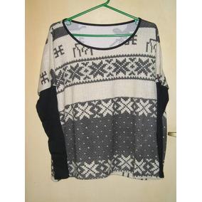 Pullover De Lana Para Mujer - Sweaters Escote Redondo de Mujer en ... 7a7acfb9714b