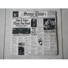 Lp John Lennon & Yoko: Plastic One Band 1973
