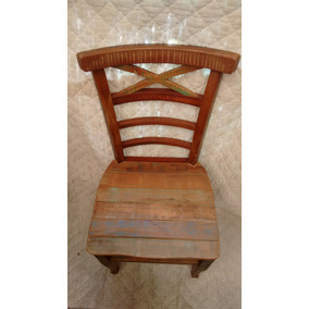 Cadeiras Madeira Demolição