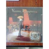 Cd Y Dvd De Vicente Fernández. Primera Fila. Original