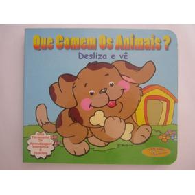 Livro Infantil Que Comem Os Animais?