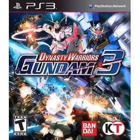 Jogo Raro Lacrado Dynasty Warriors Gundam Playstation Ps3
