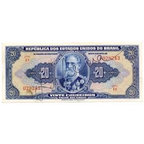 C021 Cédula Autografada 20 Cruzeiros 1º Serie Rarissima