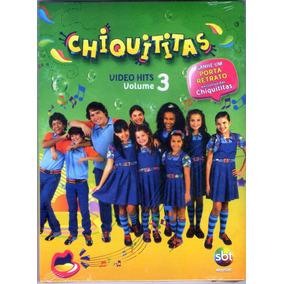 Dvd Chiquititas Vídeo Hits Volume 3 Lacrado Frete 12,00