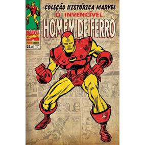 Hq - Coleção Histórica Marvel - Homem De Ferro #03