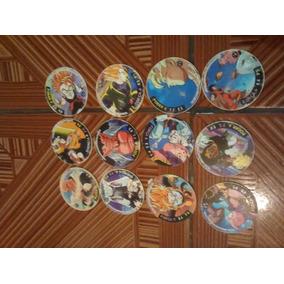 12 Tazos Do Dragon Ball Z