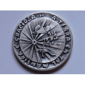 Brasil Medalha 1978 Ecologia 64 Gr Prata 900 Casa Moeda