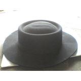 Sombrero Norteño Para Baile Gaucho En Paño Ala 10 Paño f78d352795c