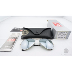 5abdb9844fe06 Óculos De Sol Ray Ban Rb3025 Espelhado Tam 60 Mm Cristal - Óculos no ...