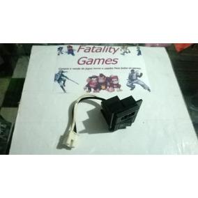 Botão Power E Entrada De Energia Playstation 2 30001 Fat