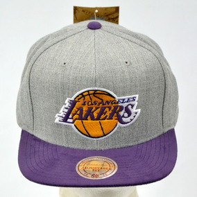 036ca96952a26 Los Angeles Lakers Nba Mitchell And Ness Gorra 100% Original