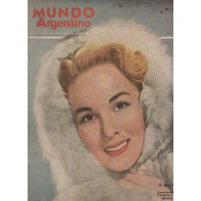 Revista Mundo Argentino Nº 2165 Agosto 1952 / Sepelio Eva