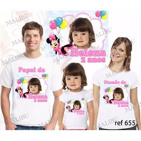 Camiseta Personalizada Foto Aniversario - Camisetas Manga Curta no ... 334ac09e8a8
