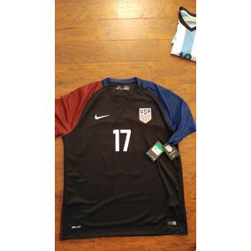 Jersey Nike Usa Estados Unidos 2016-17 Copa Visita Original 5570da03db4e5