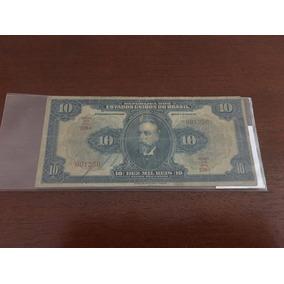 Cédula De 10 Mil Réis Ano De 1942 R 110d
