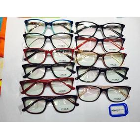 Armação Óculos Grau Vogue Rosa - Óculos no Mercado Livre Brasil d7e6483373
