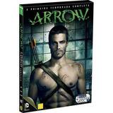 Dvd Arrow 1ª Temporada - 5 Discos - Lacrado - Original