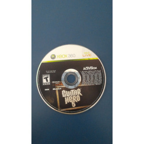 Xbox 360 Guitar Hero 5 Midia Fisica