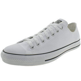 dad635007ea T Nis Converse All Star Ct As Malden Ox Branco Costura Preta - Calçados