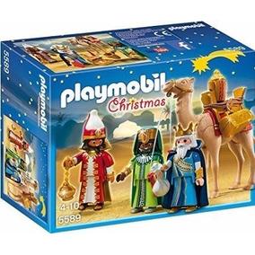 Novo Playset Playmobil Christmas Os Três Reis Magos 5589
