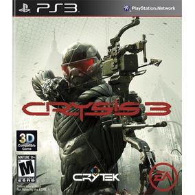 Jogo Crysis 3 Ea Ps3 Game Playstation 3 Tiro Mídia Física Nf